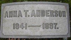 Anna T. <I>Noble</I> Anderson