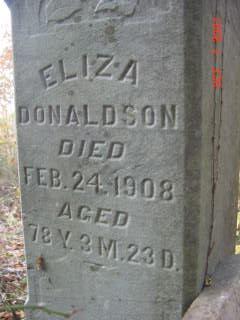 Eliza Donaldson