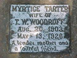 Myrtice Georgia <I>Tarter</I> Woodruff