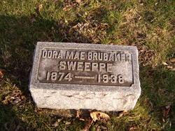Dora Mae <I>Lane</I> Brubaker Sweeppe