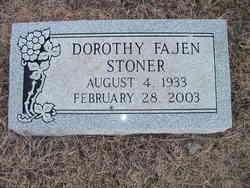 Dorothy <I>Fajen</I> Stoner