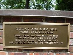 Sarah <I>Morgan</I> Boone