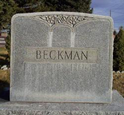 Hannah Matilda <I>Samuelson</I> Beckman