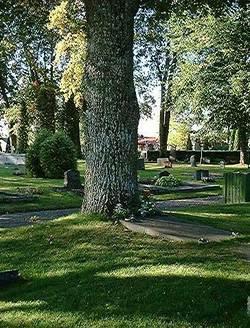 Mariefreds kyrkogård