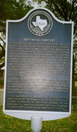 Driftwood Cemetery