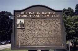 Bethsaida Baptist Church Cemetery