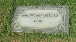 Ava Archer Reeves