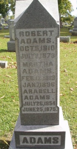 Martha Eleanor <I>Clark</I> Adams