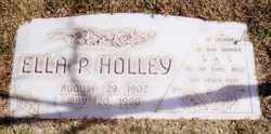 Ella Pauline <I>Drake</I> Holley