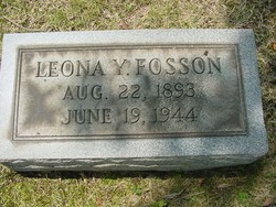 Leona Young Fosson