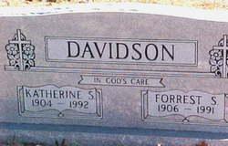 Katherine Susan <I>Smith</I> Davidson