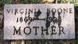 Virginia <I>Van Meter</I> Boone