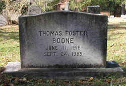 Thomas Foster Boone