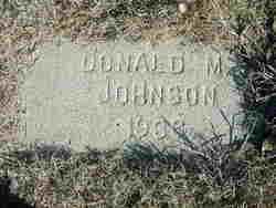 Donald M. Johnson