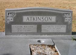 Elizabeth <I>Coleman</I> Atkinson