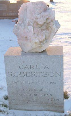 Carl A Robertson
