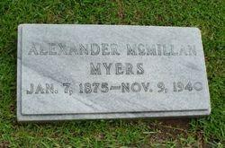 Alexander McMillan Myers