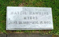 Hattie <I>Hawkins</I> Myers