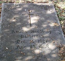 Amelia <I>Goodbody</I> Patterson