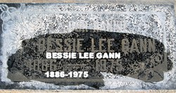 Bessie Lee <I>Boatman</I> Gann