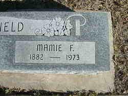 "Mary Frances ""Mamie"" <I>Singleton</I> Cawlfield"