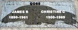 Christine C <I>Schnitker</I> Goss