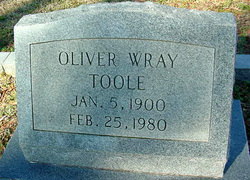 Oliver Wray Toole