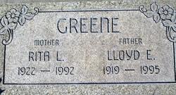 Rita Louise <I>Haggard</I> Greene