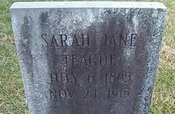 Sarah Jane Teague
