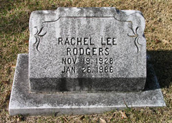 Rachel <I>Lee</I> Rodgers