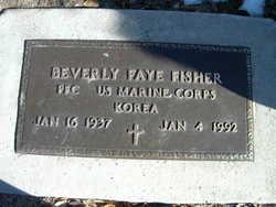 Beverly Faye <I>Pierson</I> Fisher