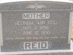 Georgia Ann <I>McAnally</I> Reid
