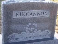 D C Kincannon