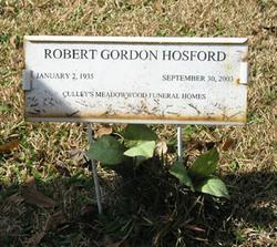 Robert Gordon Hosford