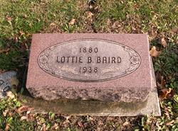 Lottie Belle <I>Kinnick</I> Baird