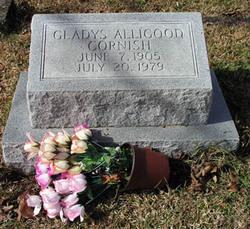 Gladys <I>Alligood</I> Cornish