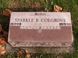 Sparkle B <I>Clinger</I> Colgrove