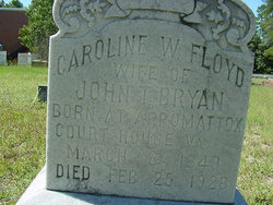 Caroline Wright <I>Floyd</I> Bryan