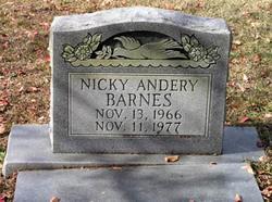 Nicky Andery Barnes