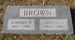 Gordon W. Brown