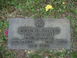 John H Wallen