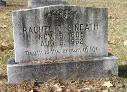 Rachel <I>Cowan</I> Sineath