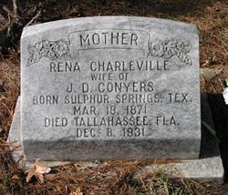 Rena A. <I>Charleville</I> Conyers