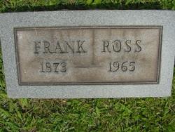 "Benjamin Franklin ""Frank"" Ross"