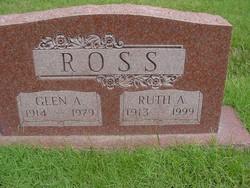 Ruth A <I>Kouns</I> Ross