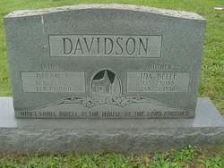 Hiram Tracey Davidson