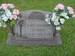 Ollie Faye <I>Pennington</I> Gilmore
