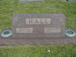 Cordilla Mae <I>Tackett</I> Hall