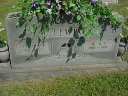 Julia A Lewis