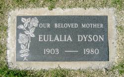 Eulalia <I>Barney</I> Dyson